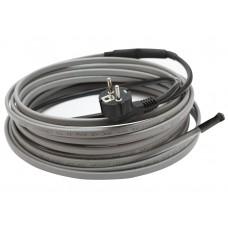 Комплект греющего кабеля на трубу (16-17 Вт/м) - 1 метр